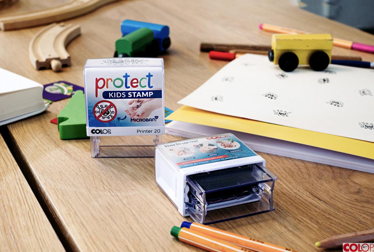 razítko COLOP Protect Kids Stamp